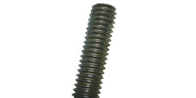 Metric Threaded Rod Black Grade 10 9 - 1m Length - FastTrade